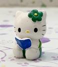 【震撼精品百貨】凱蒂貓_Hello Kitty~日本SANRIO三麗鷗 KITTY 開運擺飾-綠讀書#30759