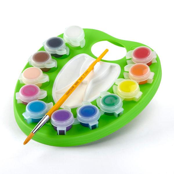 小饅頭**繪兒樂 Crayol可水洗兒童顏料繪畫組(071662110628)*特價319元