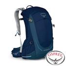 【美國 OSPREY】Stratos 24 透氣健行背包24L『暗夜藍』10000810 登山.露營.休閒.旅遊.戶外.後背包