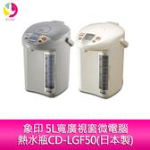 象印 5L寬廣視窗微電腦熱水瓶CD-LGF50(日本製)