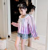 女童新款夏裝兒童韓版女大童外套薄款防曬服中大童洋氣防曬衣 全館免運