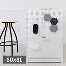 牆面收納 收納壁板 收納牆 牆面裝飾【G0027】inpegboard洞洞板60X80X1.5CM 韓國製 收納專科