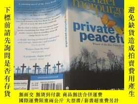 二手書博民逛書店Private罕見Peaceful:私人和平Y200392