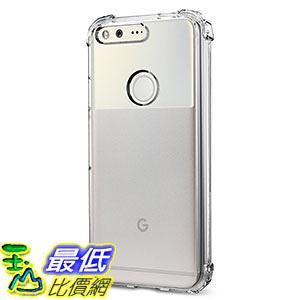 [美國直購] Spigen F14CS20898 透明邊角防撞手機殼 Crystal Shell Google Pixel Case Corners on TPU bumper
