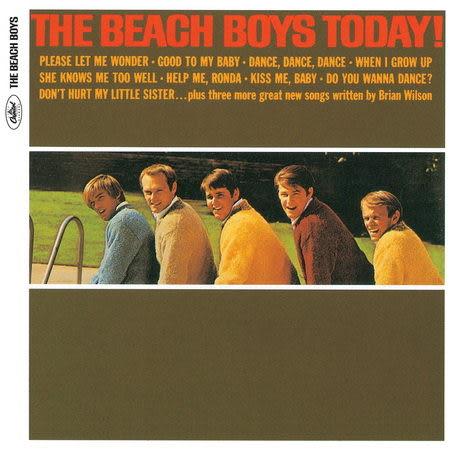 海灘男孩合唱團 就在今天! CD 2012新裝版 (音樂影片購)