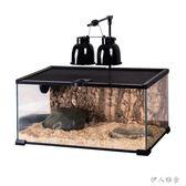 寵物爬蟲 玻璃生態造景蜥蜴蛇陸龜刺猬飼養箱  JL3066 『伊人雅舍』TW