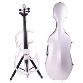 ★展示品出清★JYC 靜音大提琴(白)展示品~附贈大提琴硬盒!