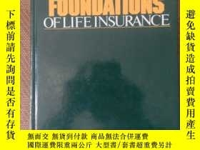 二手書博民逛書店MATHEMATICAL罕見FOUNDATIONS OF LIEE INSURANCEY368127