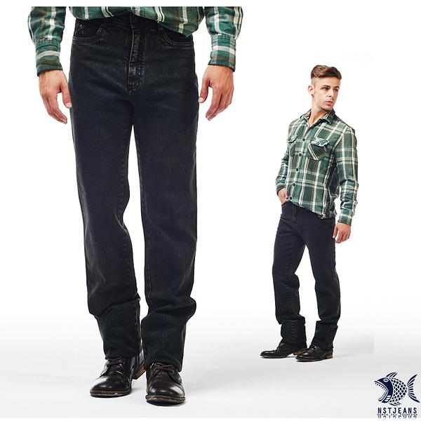 【NST Jeans】重磅耐磨 復古綠調 牛仔男褲(歐系修身小直筒) 380(5652) 帥大叔 outlet款