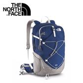 【The North Face 28L 輕量專業登山背包 深藍/鐵銀】A2UB/登山背包/後背包/專業背包/自助旅行