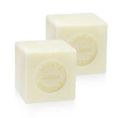 【二入組】【法國進口】戴奧飛‧波登 方塊馬賽皂- 茉莉  100g (約4.5x4.5x4.5cm)