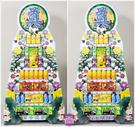【大堂人本】JY18- 七層綜合食品、飲料罐頭塔(2入)