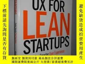 二手書博民逛書店UX罕見for Lean Startups: Faster, S