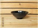 ~佐和陶瓷餐具~【05B12576黑色5...