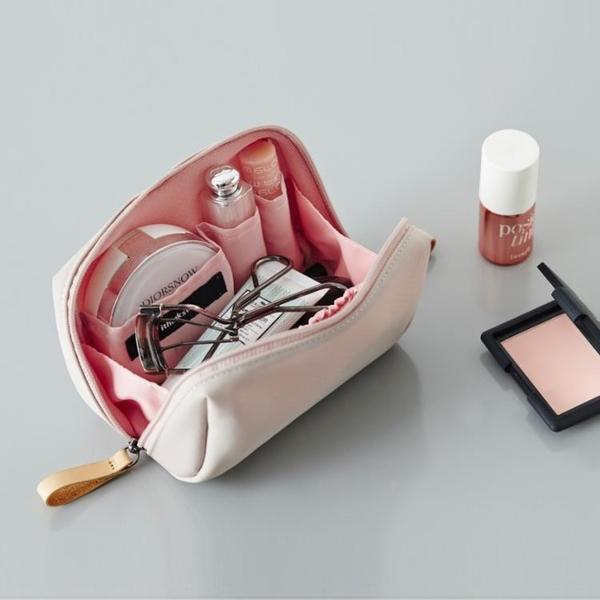 化妝包女化妝袋簡約迷你便攜口紅包化妝品收納【聚寶屋】