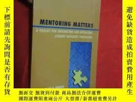 二手書博民逛書店Mentoring罕見Matters: A Toolkit for Organizin... (小16開) 【詳見