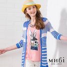 MUBI 可愛兔子亮片領結短袖上衣-三色...