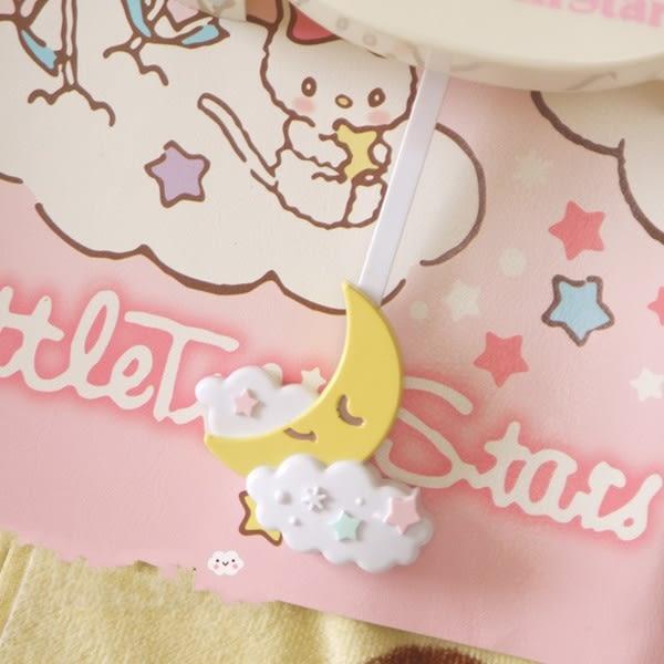 Star 日韓系列 - 雙子星搖擺掛鐘 粉色公主房兒童房臥室裝飾掛件