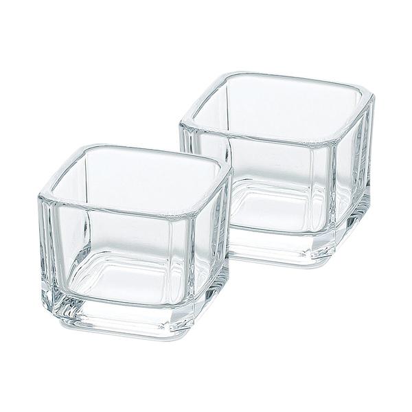 日本TOYO-SASAKI 迷你玻璃容器2入組 65ml