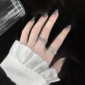 戒指の奇怪教母 戒指女時尚個性冷淡風ins潮復古嘻哈開口可調節男酷環 熱賣單品