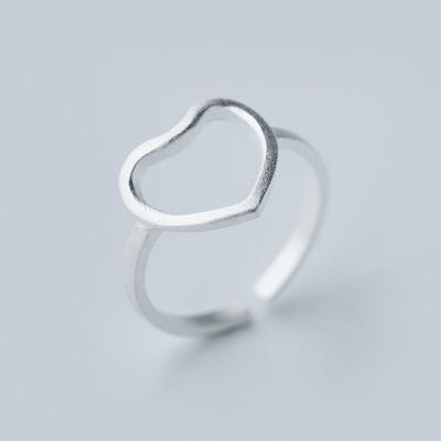 戒指 925純銀-個性鏤空生日情人節禮物女開口戒3款73dt482【時尚巴黎】