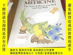二手書博民逛書店英文原版罕見Herbal Medicine: The Natur