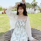 雪紡開衫上衣外套薄款夏季配裙子