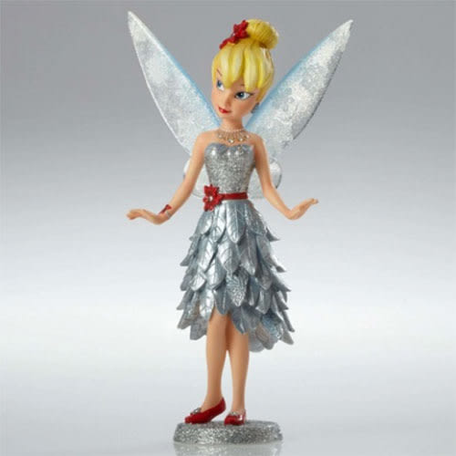 《Enesco精品雕塑》奇妙仙子冬季聖誕禮服塑像★funbox生活用品★_EN86963