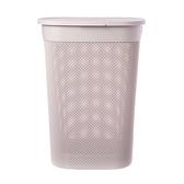 義大利品牌 KIS 洗衣籃 55L 玫瑰色