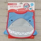 美國SKIP HOP ZOO Bib動物寶寶圍兜 防水圍兜(鯊魚)-超級BABY