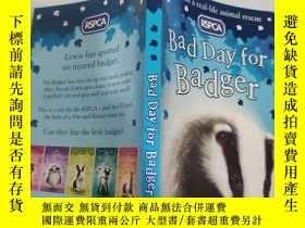 二手書博民逛書店bad罕見day for badger 獾倒黴的一天Y200392