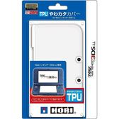 NEW3DSLL專用 HORI TPU材質 保護套 果凍套 保護蓋 透白款 3DS-428【玩樂小熊】