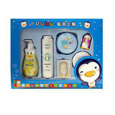 【奇買親子購物網】PUKU 沐浴保養禮盒組E (彌月禮盒)
