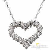 鑽石項鍊 拼接款35分 愛心造型 亞帝芬奇 真愛