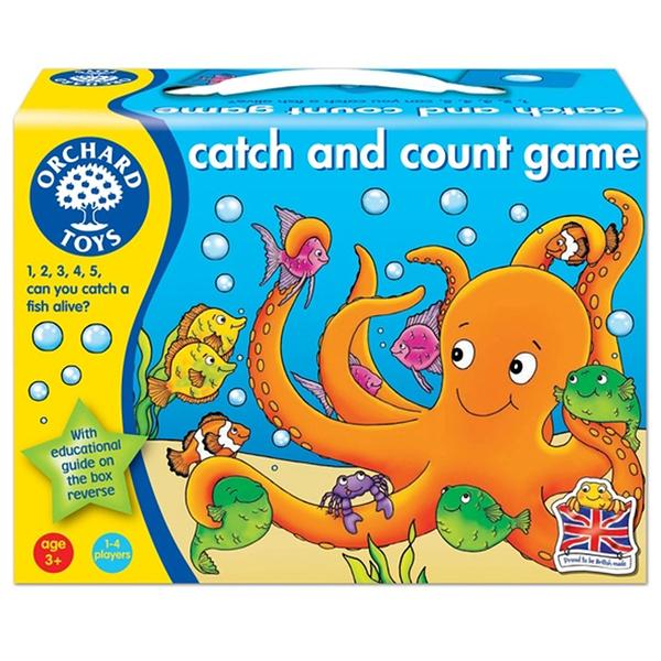 【英國 Orchard Toys】兒童桌遊-數學加減 抓魚樂 OT-002 CATCH & COUNT