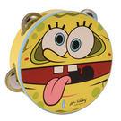 【敦煌樂器】SpongeBob Tambourine 海綿寶寶6吋鈴鼓