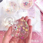 黏土玩具 ins網紅可愛水果切片水晶泥解壓神器史萊姆解壓無毒超輕粘土玩具  LN3461  【雅居屋】