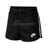 Nike 短褲 NSW Air Shorts 黑 白 女款 串標 運動休閒 【ACS】 CJ3135-010