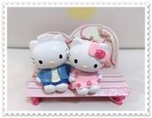 ♥小花花日本精品♥ Hello Kitty 玫瑰花 座椅 玫瑰花 丹尼爾 粉色 情人手機座 21005404