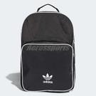 adidas 後背包 Originals Classic Backpack 男女 經典款 三葉草 黑 白 【ACS】 CW0637