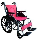 輪椅B款-20吋中輪折背// FZK-2500