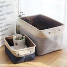 [大款/中款] 無印風 Zakka棉麻收納籃 洗衣籃 收納箱收納盒收納袋【RS926】