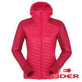 【法國Eider】女 專業保暖透氣防風抗雪 連帽外套 石榴紅 EIV3224