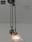 INPHIC- 美式咖啡廳麻將燈升降燈伸...