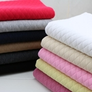 針織菱形格子夾絲棉保暖面料 純棉中厚間棉布匹 服裝抱被床品布料 【快速出貨】