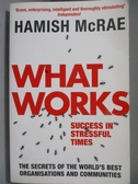 【書寶二手書T2/財經企管_NPD】What Works-Success in Stressful Times_McRa