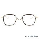 DITA 頂級眼鏡品牌 TESSEL  全新技術 鈦 近視眼鏡 霧黑-金 久必大眼鏡