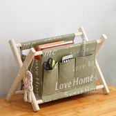 化妝品收納盒木質布藝收納筐