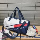 健身包健身包女運動包潮男干濕分離訓練包大容量韓版手提網紅短途旅行包 聖誕交換禮物