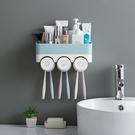 牙刷置物架刷牙杯漱口杯掛牆式衛生間免打孔壁掛吸壁牙具牙缸套裝